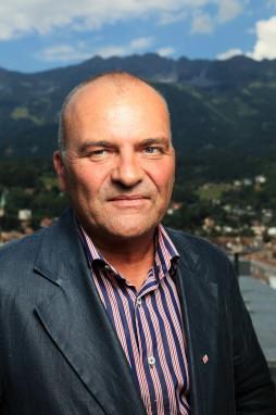 Dr. Karl Gostner, Obmann von Innsbruck-Tourismus